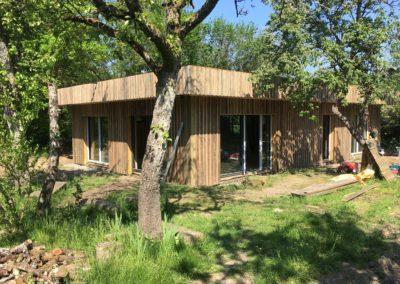 maison PASSIVE ossature bois (Nevers-58)
