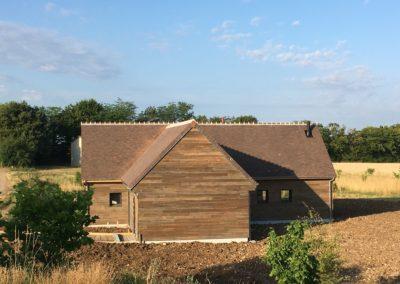 construction d'une maison en ossature bois (ste lunaise 18)