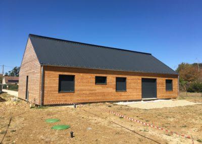 construction maison en ossature bois (Vasselay-18)