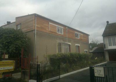 élévation de maison ( Bourges 18 )