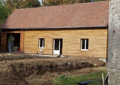 maison en ossature bois (givardon 18)